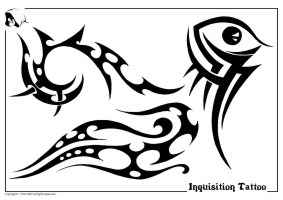 picture relating to Free Printable Tattoo Flash Sheets named Tribal Black White Flash/Design and style Sheets #1