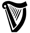 Guinness Harp Tattoo   Guiness Beer Harp   Stencil