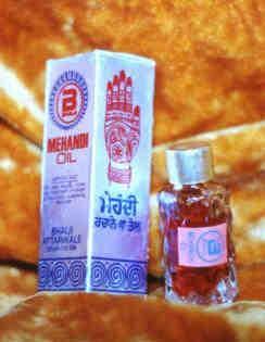 Eucalyptus, Mehandi, Clove & Henna Oil