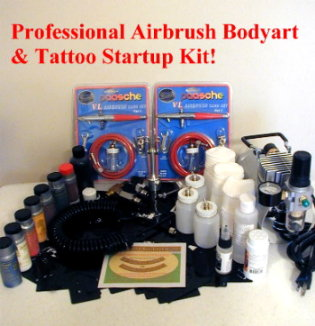 Airbrush Body Art Equipment