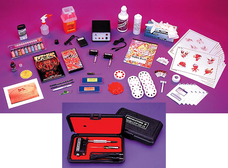 [ Back to Professional Tattoo Artist Kits ]