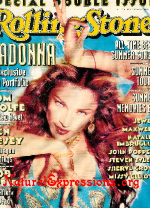 Madonna Rolling Stone Cover