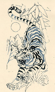 traditional japanese tiger tattooTraditional Japanese Tiger Tattoos