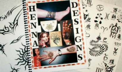 Henna Tattoo Tribal Patterns