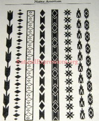 Native American Stencil Patterns http://www.thehennapeople.com/paperstencils.html
