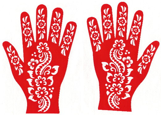 Henna Hand Stencils Hands Pictures Images Pics