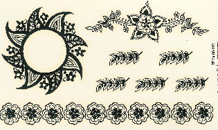 Adhesive Tattoos Temporary Tattoos